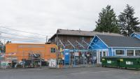 Truck and store on NE 82nd
