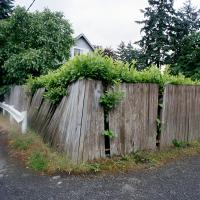 Fence SE Clatsop and 72nd Ave