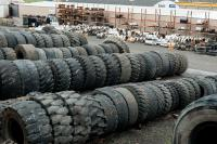 lots of tires, of all sizes