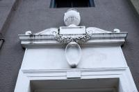 architecture detail on building
