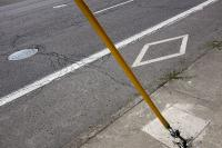 cable and street markings