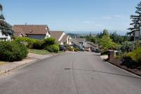 neighborhood with view of Mt St Helens