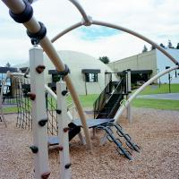 Playground at Portland Bible College NE 91st and Rocky Butte Road