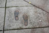 foot print markers