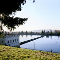 View of Mt Tabor lower reservoir