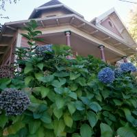 Hydrangeas on SE Ankeny Street