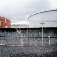 Chemical storage tanks, Lynnton